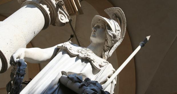 statua Minerva _copertina